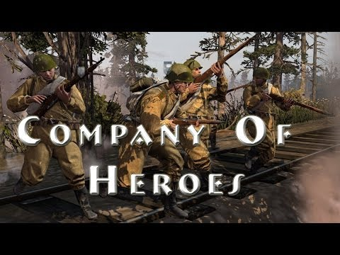 Company Of Heroes Comparison!