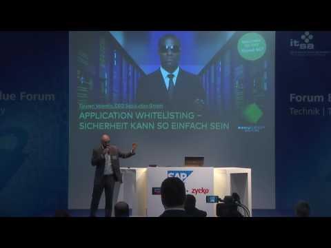 Kurzvortrag im Technikforum auf der it-sa 2016.  Danke an die it-sa und malchus-eventmanagement für die Bereitstellung des Videos.