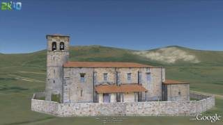 preview picture of video 'Google Earth Cantabria- San Jorge, Penagos 3D'
