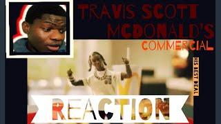 Travis Scott McDonald's commercial (reaction!!) WHAT A GREAT BUSINESS DEAL