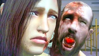 Dead Rising Remastered Part 16 Isabela is Attacked by a Zombie & Frank Rescues Isabela & Kendell