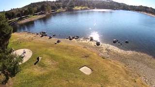 Puddingstone Lake Overflight