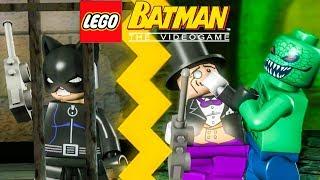 RESGATE DA MULHER GATO NA PRISÃO - JOGANDO COM OS VILÕES - LEGO Batman The Videogame