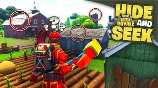 The Best Hiding Spots In Fortnite Battle Royale Hide & Seek!