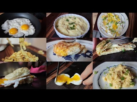 Make These Ten Different Dishes Using Just Eggs