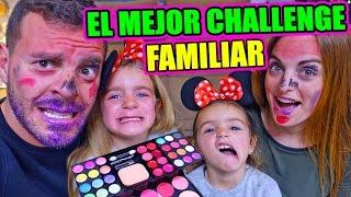 EL MEJOR CHALLENGE FAMILIAR (GISELE CASI ME SACA UN OJO) ·VLOG·