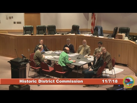 Historic District Commission 11.7.18