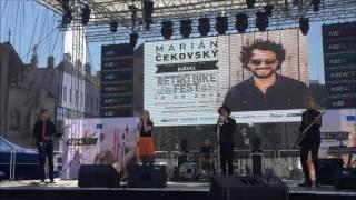 Video Retro Bike Fest Mariána Čekovského 2016 - kapela Pomaranč