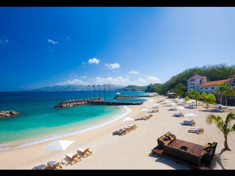And the Winner of a Trip for 2 to Sandals LaSource Grenada is...