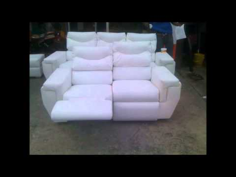 Sofa doble reclino