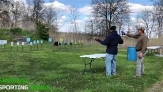 Action Pistol Match at Sandoval Range, Illinois - Shooter 6