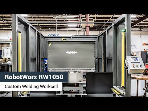 RW1050 Welding System with FANUC ArcMate 100iC/7L