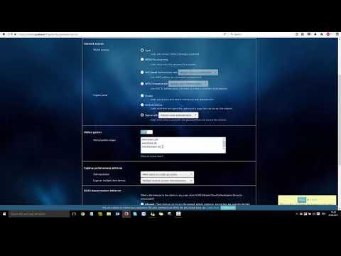 Zyxel Nebula NAP203 - Setting up an SSID with Captive Portal on NCC