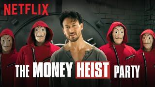 The Money Heist Party ft. Tiger Shroff | Pepsi x Netflix India