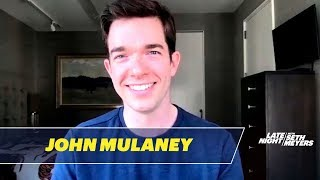 John Mulaney's Dog Is Weirded Out by New York City's Empty Streets