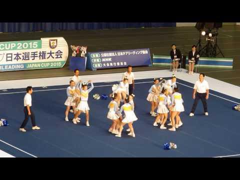 準優勝 目白研心中学校 POLARIS JAPAN CUP 2015