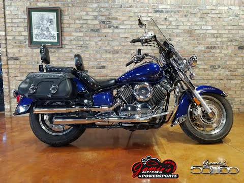 2009 Yamaha V Star 1100 Silverado in Big Bend, Wisconsin - Video 1