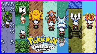 Pokemon Emerald - All Legendary Pokemon Locations