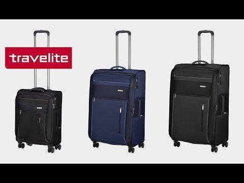 Travelite - Capri 4-Rollen-Trolley | koffer-direkt.de
