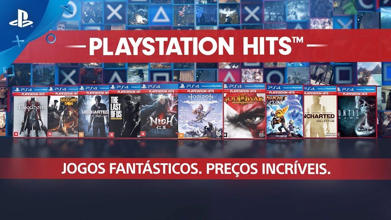Apresentando as Novidades da Linha PlayStation Hits