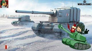 """World of Tanks - Первые шаги к """"Скворечнику""""   Начало прокачки ПТ-САУ Британии (Идём к FV4005)"""