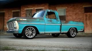 1968 Ford F100 Hot Rat Street Rod Pro Touring Patina Slammed Pickup FOR SALE