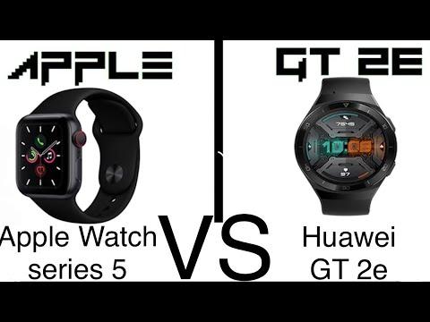 Huawei Watch GT 2e vs Apple watch Series 5 | Apple win or lose