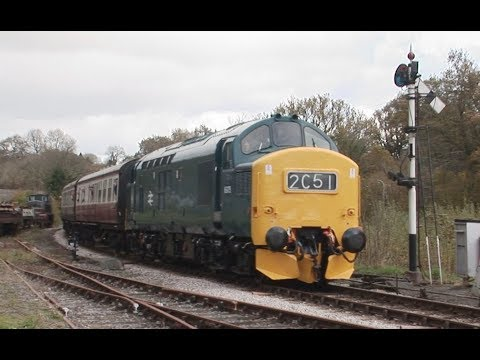 BR Blue 37275 (6975) in action during the South Devon Railwa…