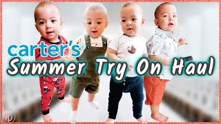 *ADORABLE* BABY BOY TRY ON HAUL Summer 2020 L CARTERS CLOTHING HAUL