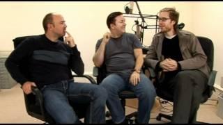 Ricky Gervais, Stephen Merchant and Karl Pilkington - Ricky's career highlight