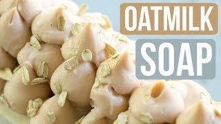 Oatmilk Handmade Soap With Freshly Ground Oats | Royalty Soaps