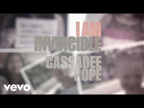 I Am Invincible Lyric Video