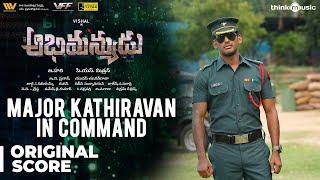 Abhimanyudu   Major Karunakar In Command - Background Score   Vishal, Arjun   Yuvan Shankar Raja