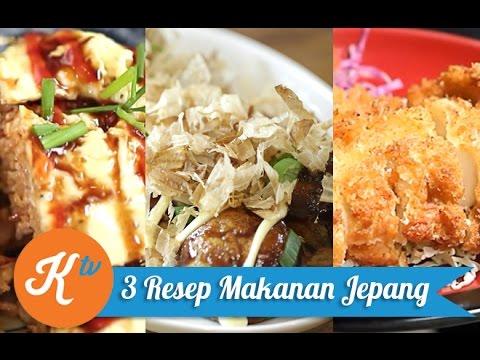 Video 3 Resep Masakan Jepang
