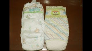Pañales BB Tips Talla 7 Vs Pampers Talla 7
