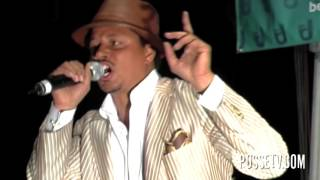 "Terrance Howard aka Lucious Lyon performs ""PLENTY"" Live In Park In NYC"