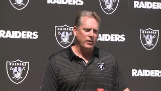 Raw Video: Jack Del Rio Wednesday Press Conference