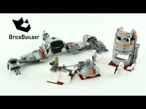 Vidéo LEGO Star Wars 75202 : Défense de Crait