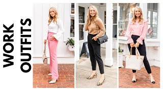 HOW TO DRESS CHIC FOR WORK! BUSINESS CASUAL WORK OUTFITS 2020 | Amanda John