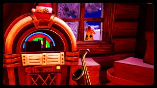 NEW SECRET CRACKSHOT CABIN EASTER EGG! HIDDEN PEELY OUTSIDE THE CABIN! (Fortnite Winterfest)