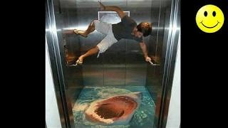 Best Of Elevator Pranks   Ultimate Elevator Funny Scare Prank Compilation 2016