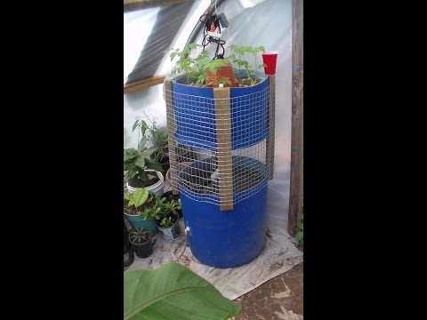 Diy Hydroponic Garden Tower The Ultimate Hydroponic System Growing
