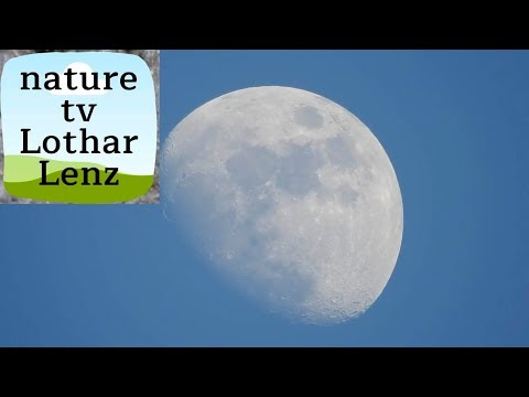 اختبار زووم بصري قوي جدا في تقريب القمر