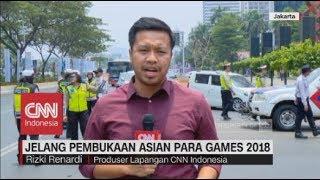 Gambar cover Rekayasa Lalu Lintas Jelang Opening Ceremony Asian Para Games 2018