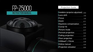 YouTube Video mfuDKipe9Sk for Product Fujiflm Projector Z5000 by Company Fujifilm in Industry Televisions