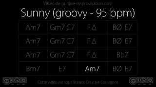 Sunny (95 bpm - groovy) : Backing Track