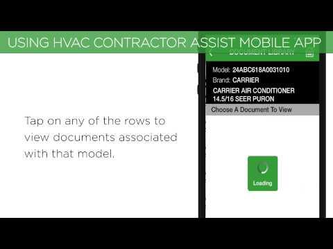 Video of Carrier Enterprise HVAC Assist