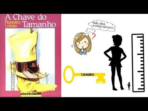 A CHAVE DO TAMANHO - MONTEIRO LOBATO ? RESENHA ANIMADA