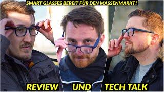 Smarte Brille für den Massenmarkt? Ellcie Healthy Smart Glasses Review | TechTalk #2