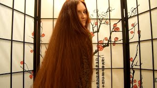 Long Red Hair For Fans